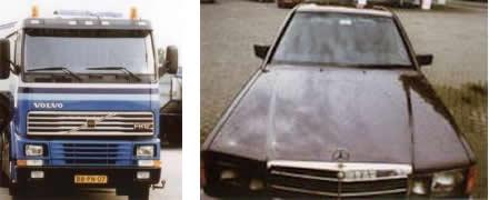 autoshampoo en carclean voor reiniging van transportmiddelen